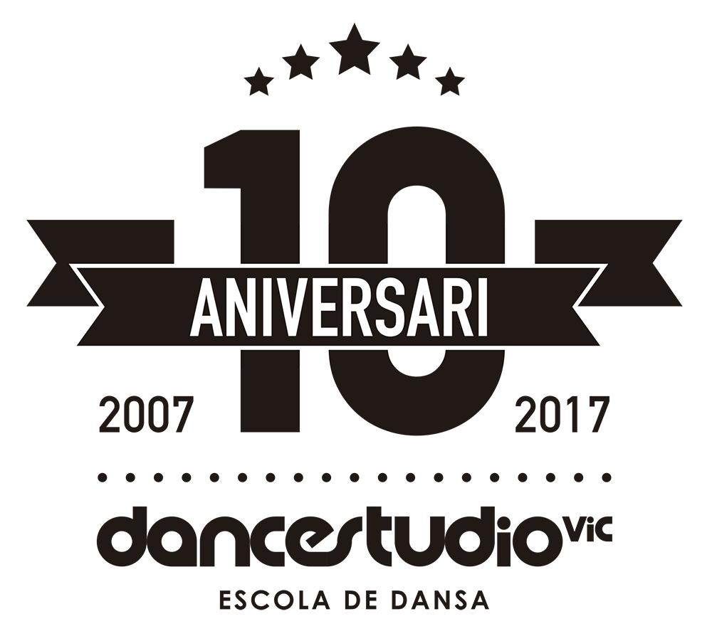 DSV logo 10anys